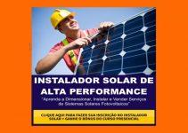 Curso de Instalador de Energia Solar vira Febre no Brasil durante a Crise